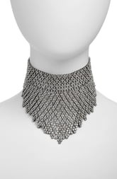 CRISTABELLE Graduated Crystal Choker