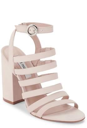 Steve Madden Women's Block-Heel Cage Sandals