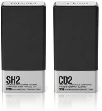 Patricks Men's Deep Clean Shampoo & Conditioner Set