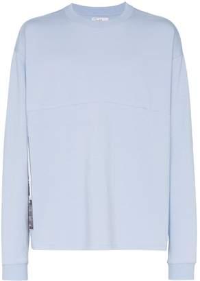 Tony Hawk Signature Line X Corbijn Back Print Long Sleeve Cotton T-Shirt