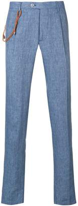 Berwich straight-cut trousers