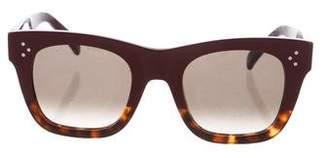Celine Color-Block Cat-Eye Sunglasses