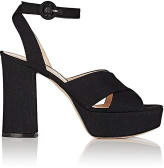 Gianvito Rossi Women's Crisscross Platform Sandals