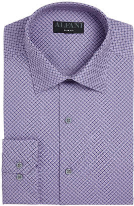 Alfani Assorted AlfaTech by Men Slim-Fit Performance Stretch Easy-Care Dress Shirts