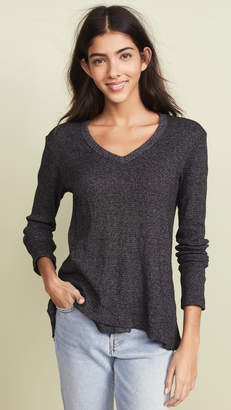 Wilt Thermal Shrunken Mock Layer Tee