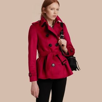 Burberry Wool Cashmere Trench Jacket $1,295 thestylecure.com