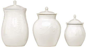 Lenox French Perle Cannister Set of 3