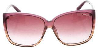 Tom Ford Lydia Ombré Sunglasses