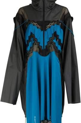 Maison Margiela Zipped lingerie like dress
