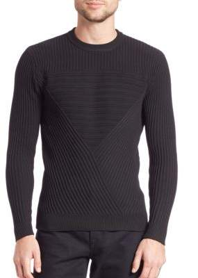 G Star Moving Triangle Ribbed Pullover
