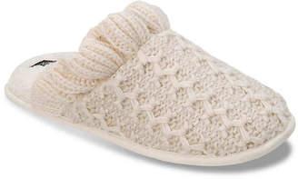 Nine West Textured Knit Scuff Slipper - Women's