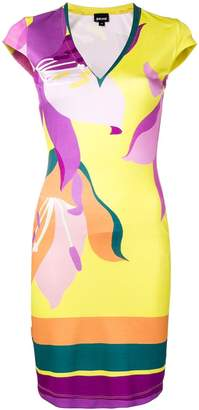 Just Cavalli fitted day dress