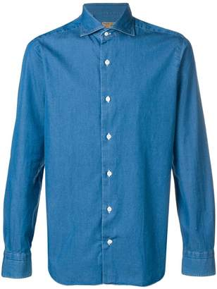 Barba point-collar shirt