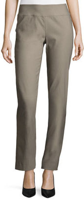 NIC+ZOE Wonderstretch Straight-Leg Pants $128 thestylecure.com