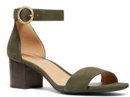 MICHAEL Michael Kors Lena Suede Heeled Sandals