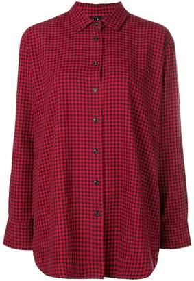Woolrich checkered print shirt