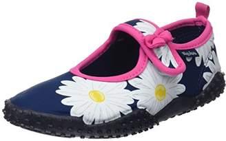 Playshoes Unisex Kids' Badeschuhe Margarite mit Uv-Schutz Water Shoes,12.5 Child UK 30/31 EU