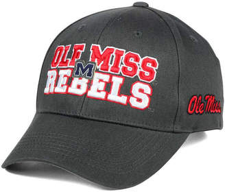 Top of the World Ole Miss Rebels Charcoal Teamwork Snapback Cap