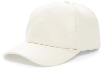 Women's Bp. Faux Leather Ball Cap - Ivory $25 thestylecure.com