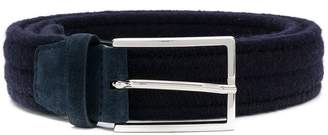Orciani narrow fastened belt