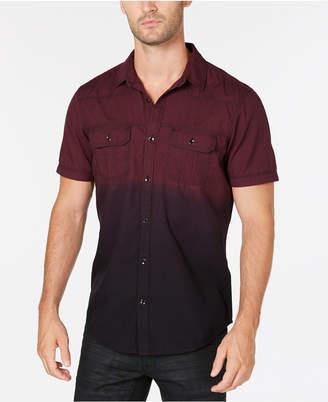 INC International Concepts I.n.c. Men's Dip Dyed Shirt