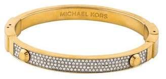Michael Kors Crystal Hinge Bangle