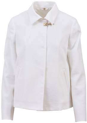 Fay White Short Jacket