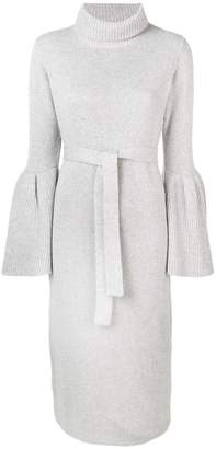 Eleventy bell sleeves knitted dress