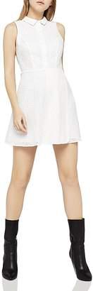 BCBGeneration Eyelet Shirt Dress