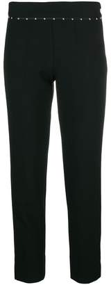 Emporio Armani embellished cropped trousers