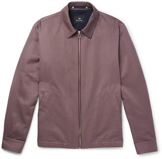 Paul Smith Cotton and Linen-Blend Blouson Jacket