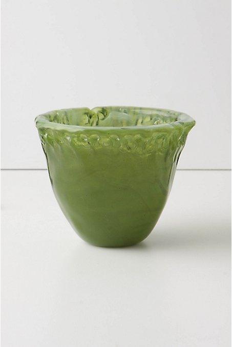 Glass Clay Votive