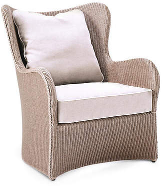 Janus et Cie Butterfly Lounge Chair - Tan Nacre/White