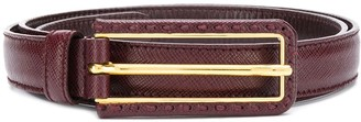 Prada logo belt