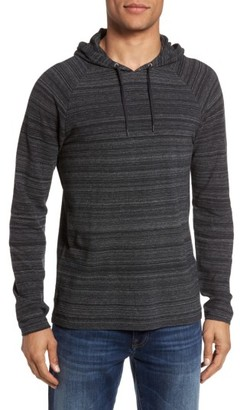 Men's John Varvatos Star Usa Striated Knit Hoodie $148 thestylecure.com