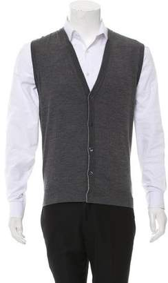 Isaia Wool Sweater Vest w/ Tags