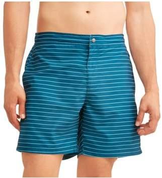 Trunks Ocean Gear Big Men's Stripe Swim Trunk