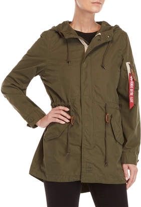 Alpha Industries Diplomat Fishtail Coat