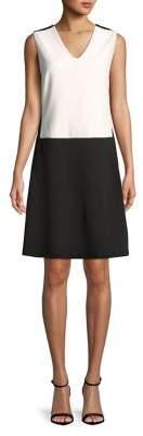 NYDJ A-Line Colorblock Dress