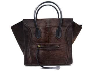 Celine Luggage Phantom Pony-style Calfskin Handbag
