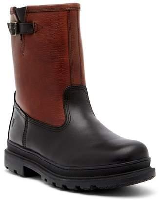 Frye Riley Genuine Shearling Lined Waterproof Leather Boot