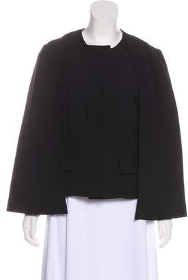 Marni Virgin Wool Collarless Jacket