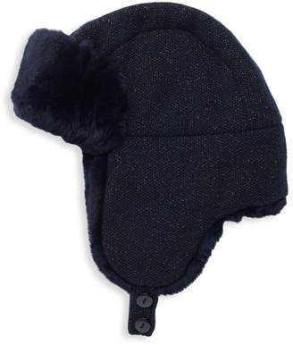 Inverni Matilde Rabbit-Fur Lined Trapper Hat