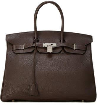 Hermes Birkin 35 Togo Calfskin Satchel Bag