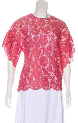 Valentino 2018 Lace Blouse w/ Tags
