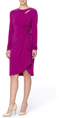 Women's Catherine Catherine Malandrino 'Gordon' Faux Wrap Sheath Dress $128 thestylecure.com