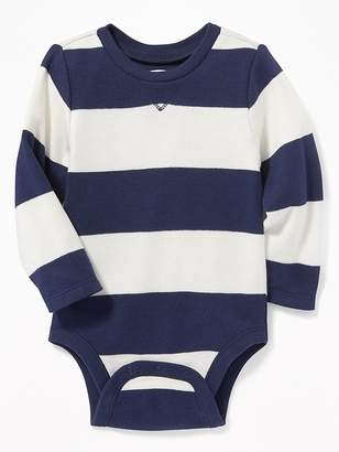 Old Navy Patterned Thermal-Knit Bodysuit for Baby
