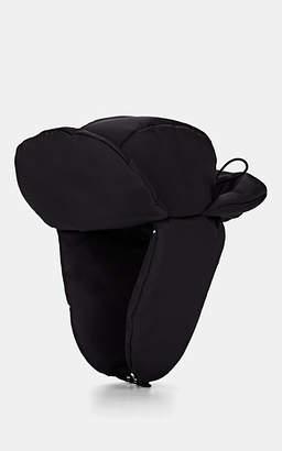 Prada Men's Quilted Puffer Trapper Hat - Black