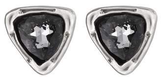 Uno de 50 Twinkle Twinkle Little Star Swarovski Crystal Accented Stud Earrings