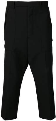 Rick Owens cargo cropped trousers